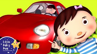 Driving In My Car Song | Nursery Rhymes | Original Song by LittleBabyBum!