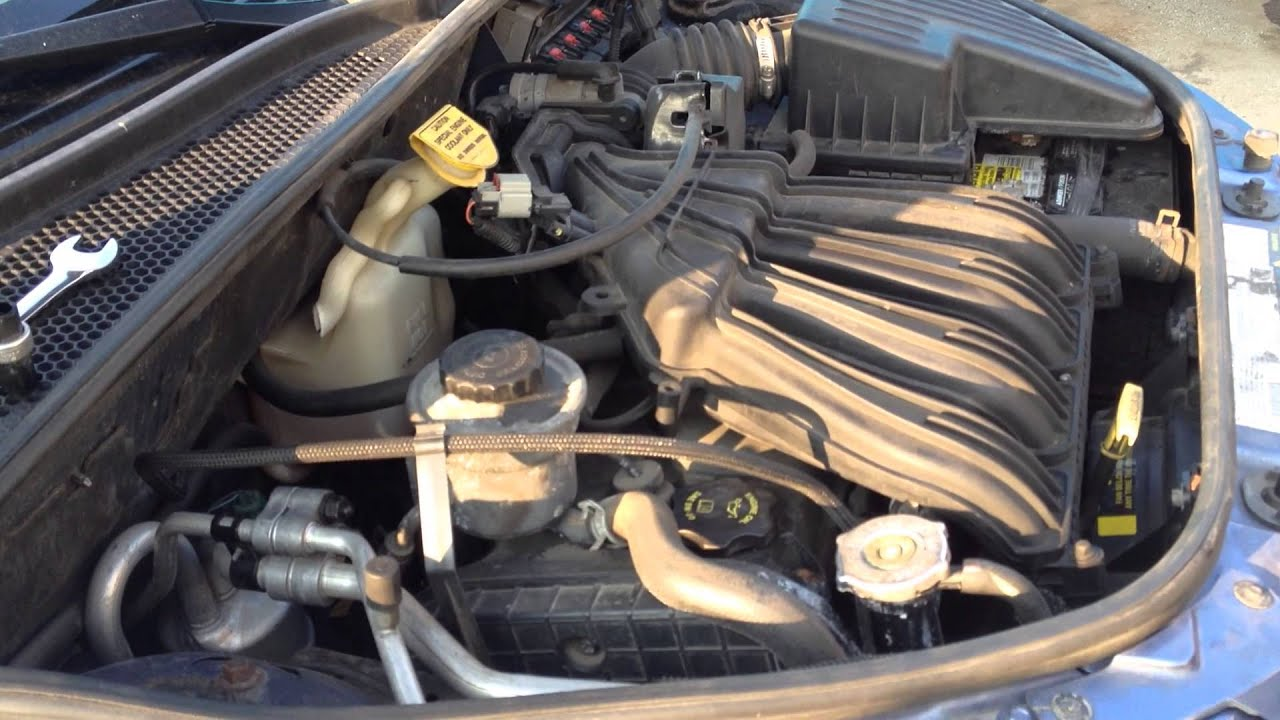 pt cruiser ac air conditioning fix how to