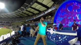 Emcee Sunny - Mexican Wave @ Wankhede Stadium, Mumbai