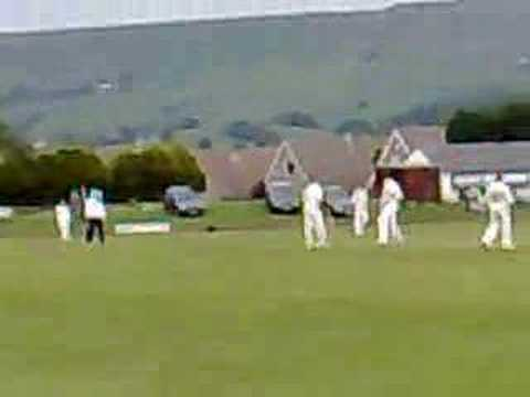 Lou Vincent scores first century for Ramsbottom