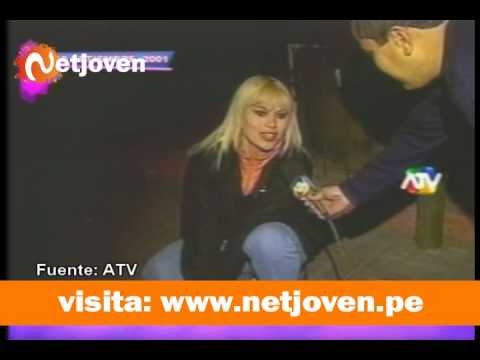 Daysi Ontaneda muestra calzón mientras animaba un show