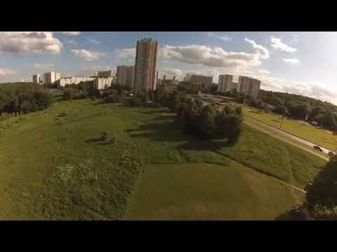 FPV flying on tricopter (500 size)