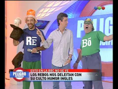 Los Rebos — Humor Inglés en Peligro Sin Codificar