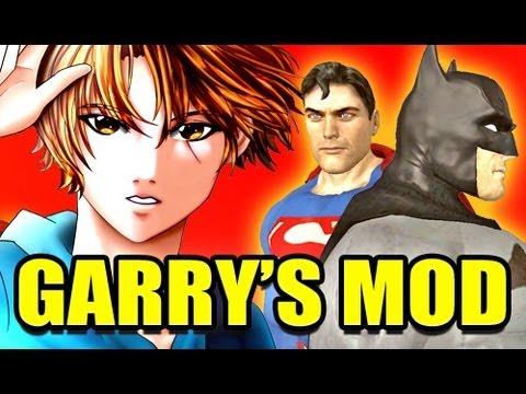 Gmod JUSTICE LEAGUE Mod! (Garry's Mod)