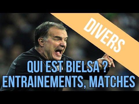 Séquences d'entrainements de Bielsa & résultats de matches