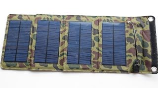 Photovoltaic Solar Charger for Smartphones and more