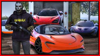 GTA 5 Roleplay - STEALING every supercar at McLaren Dealership | RedlineRP #981