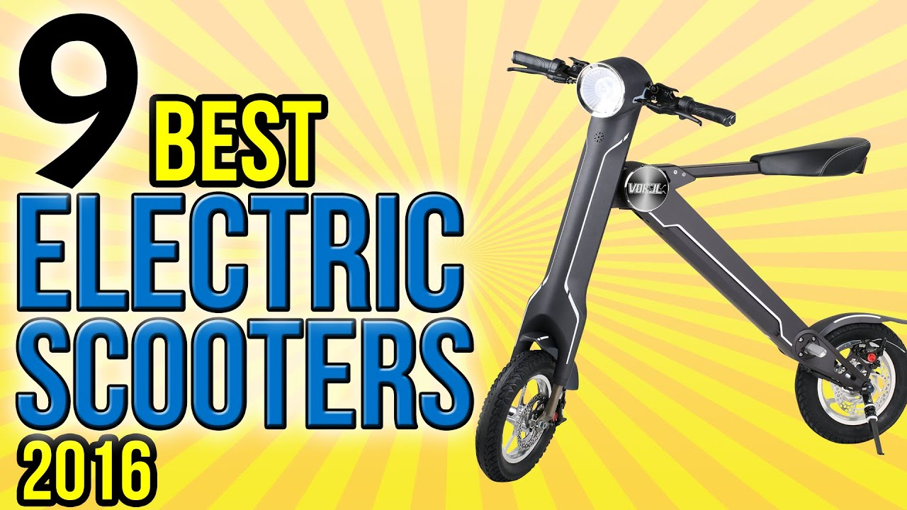 9 Best Electric Scooters 2016