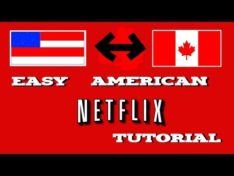 How to get American Netflix on PS3 if you're in Canada (or any other country).
