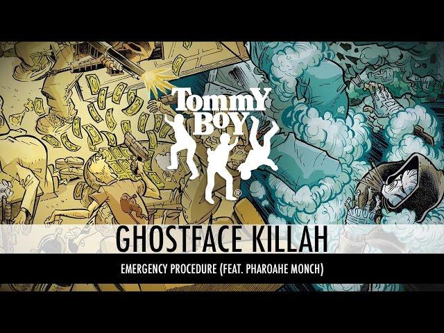 Ghostface Killah - Emergency Procedure (feat. Pharoahe Monch) [Official Lyric Video]