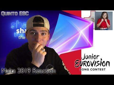 Eliana Gomez Blanco - We Are More Reaction - Junior Eurovision 2019 (Malta) - Quinto ESC