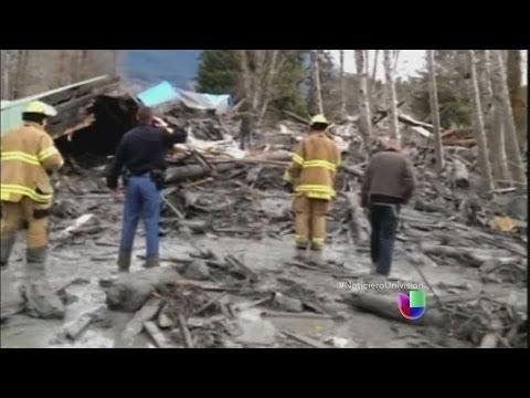 Alud de tierra en Washington deja varios muertos