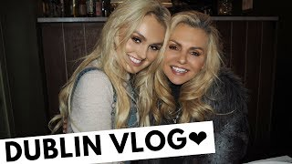 Dublin Vlog - Ireland Pageant Land & STORMS & Lots of FOOD!!!!