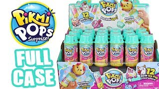 Pikmi Pops PushMi Ups Icey Friends Season 3 Full Case Unboxing Toy Review Scented Plush Blind Box