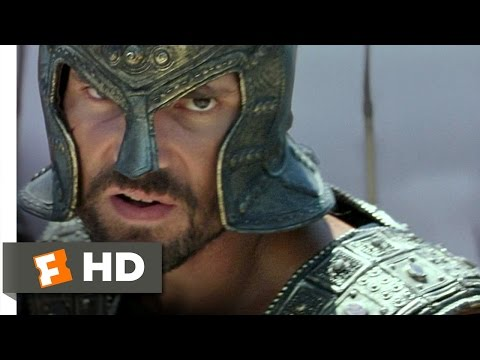Troy (4/5) Movie CLIP - Hector Kills Achilles? (2004) HD