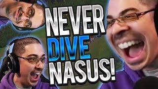 CONQUEROR NASUS.. GOOD? | NEVER DIVE D CANE! - Trick2G