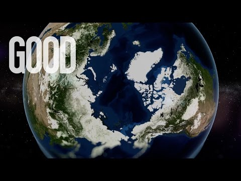 The Breathing Earth | Climate Change Data Visualization | #EarthToParis