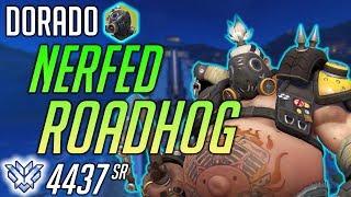 HARBLEU PLAYS THE NERFED ROADHOG Dorado Overwatch 4436 SR