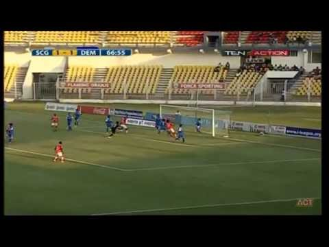 Hero I-League 2015 Sporting clube de (2) vs Dempo sports club (2) 04-4-2015