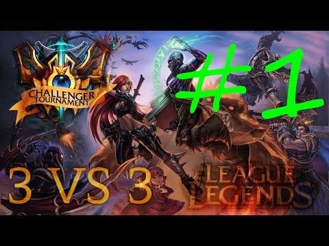 League Of Legends: Rankedy 3v3 Challenger Tier I #1 Bardzo trudna gra