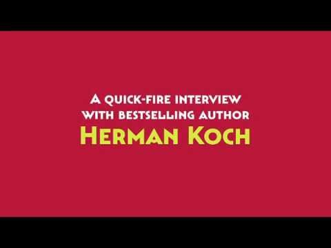 A one-minute interview with Herman Koch