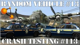 BeamNG.Drive Random Vehicle #13 Crash Testing #113