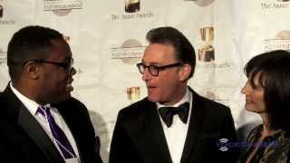 Voice Actors Tom Kenny (SpongeBob, Adventure Time) & Jill Talley at the 41st Annual Annie Awards