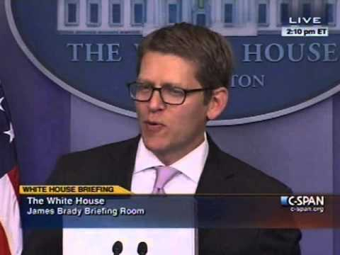 Jay Carney Says Immigration Reform Will 'Increase Wages, Media laughs at the mere suggestion.