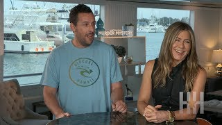 How Adam Sandler Convinced Jennifer Aniston To Join 'Murder Mystery'