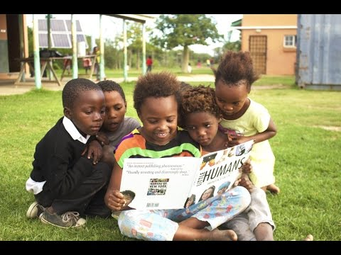 Little Humans at the South African Orphanage (Humans of New York)