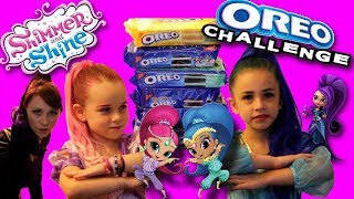 Shimmer and Shine REAL LIFE OREO Challenge WITH ZETA! | SamLandTV