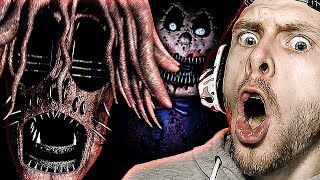 CREEPY NIGHTMARE AFTON JUMPS ME! | Baby's Nightmare Circus: Classic Mode Complete! FNAF Fan Game