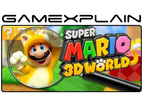 Super Mario 3D World - E3 Gameplay Analysis (Secrets & Hidden Details)