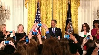 President Obama Speaks at a Women's History Month Reception  3/18/13    (white house)