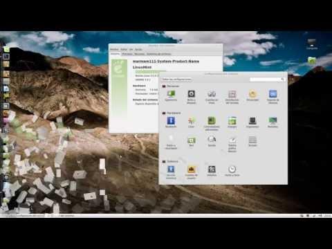 Linux Mint 13 maya Compiz Fusion