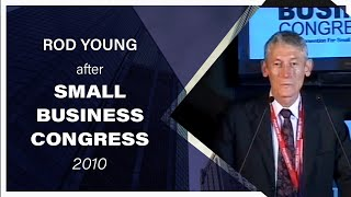 Rod Young at Small Business Congress