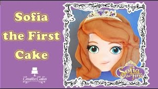 Sofia the First Cake Disney Princess (How to make)
