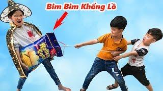 Phù Thủy Thích Ăn Bim Bim Khổng Lồ ♥ Min Min TV Minh Khoa