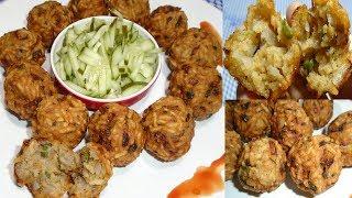 মুচমুচে মুড়ির পাকোড়া।।Murir Pakora।।Bangladeshi Pakora Recipe।Puffed Rice Pakora Recipe