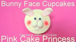 Easter Cupcakes - How to Make an Easter Bunny Rabbit Cupcake