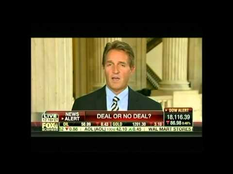 Sen. Flake Discusses Iran, Wasteful Spending on Fox Business Network