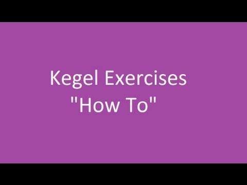 Kegel Exercise During Pregnancy Video