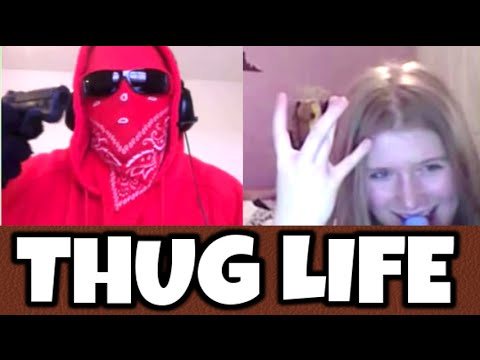 Thug Life Compilation Omegle (funny Moments Omegle) video