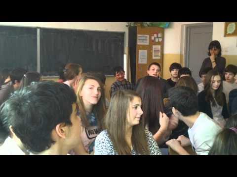 Despre Basarabia cu elevii unei şcoli din Bucuresti