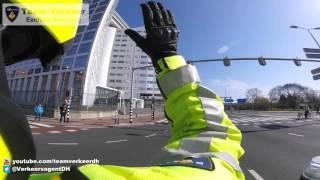 Ambulancebegeleiding A12 afrit Zoetermeer naar MCH Westeinde 21-04-2016