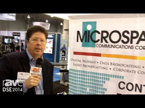 DSE 2014: Microspace Communications  Shows Content Delivery Solutions