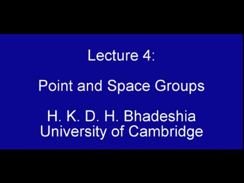 Point and Space Groups (2015)
