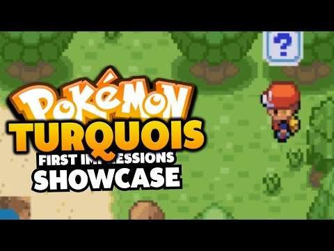 Pokemon Turquoise - Pokemon Rom Hack First Impressions/Showcase
