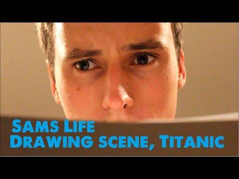 Titanic Necklace Scene Drawing Scene From Titanic