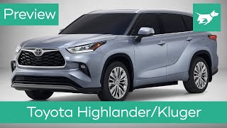 Toyota Highlander/Kluger 2020 preview – engine, interior and more